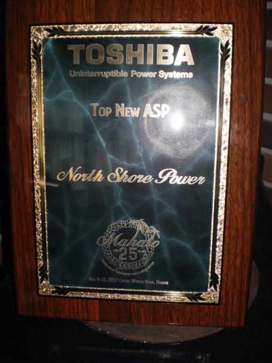 Toshiba Award